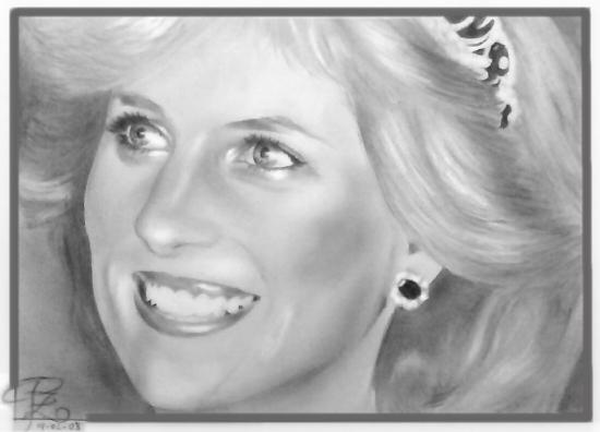 Lady Diana por myra